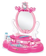 Kozmetična mizica za otroke - Kozmetična mizica s stolčkom Hello Kitty Smoby in 10 dodatkov_3