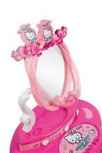 Kozmetična mizica za otroke - Kozmetična mizica s stolčkom Hello Kitty Smoby in 10 dodatkov_4