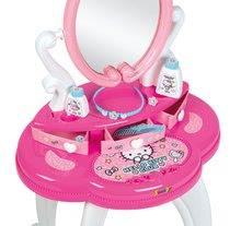 Kozmetična mizica za otroke - Kozmetična mizica s stolčkom Hello Kitty Smoby in 10 dodatkov_2