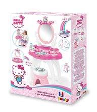 Kozmetična mizica za otroke - Kozmetična mizica s stolčkom Hello Kitty Smoby in 10 dodatkov_5