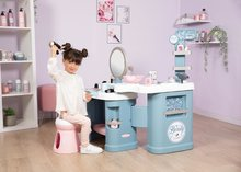 Kozmetična mizica za otroke - Kozmetična mizica elektronska My Beauty Center 3in1 Smoby frizerstvo in kozmetični salon z manikiro ter 32 dodatkov_2