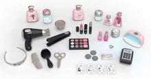 Kozmetična mizica za otroke - Kozmetična mizica elektronska My Beauty Center 3in1 Smoby frizerstvo in kozmetični salon z manikiro ter 32 dodatkov_0