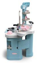 Kozmetična mizica za otroke - Kozmetična mizica elektronska My Beauty Center 3in1 Smoby frizerstvo in kozmetični salon z manikiro ter 32 dodatkov_3