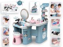 Kozmetična mizica za otroke - Kozmetična mizica elektronska My Beauty Center 3in1 Smoby frizerstvo in kozmetični salon z manikiro ter 32 dodatkov_4