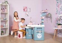 Kozmetična mizica za otroke - Kozmetična mizica elektronska My Beauty Center 3in1 Smoby frizerstvo in kozmetični salon z manikiro ter 32 dodatkov_9