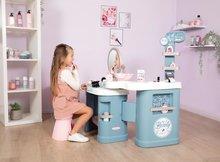 Kozmetična mizica za otroke - Kozmetična mizica elektronska My Beauty Center 3in1 Smoby frizerstvo in kozmetični salon z manikiro ter 32 dodatkov_10