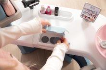 Kozmetična mizica za otroke - Kozmetična mizica elektronska My Beauty Center 3in1 Smoby frizerstvo in kozmetični salon z manikiro ter 32 dodatkov_14