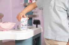 Kozmetična mizica za otroke - Kozmetična mizica elektronska My Beauty Center 3in1 Smoby frizerstvo in kozmetični salon z manikiro ter 32 dodatkov_15