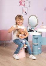 Kozmetična mizica za otroke - Kozmetična mizica elektronska My Beauty Center 3in1 Smoby frizerstvo in kozmetični salon z manikiro ter 32 dodatkov_19