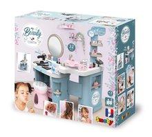 Kozmetična mizica za otroke - Kozmetična mizica elektronska My Beauty Center 3in1 Smoby frizerstvo in kozmetični salon z manikiro ter 32 dodatkov_29
