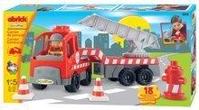 Stavebnice Abrick - Stavebnice Abrick – požární kamion s jeřábem Écoiffier 18 dílů od 18 měsíců_0