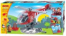Cuburi de construit Abrick - Joc de construit Abrick - elicopter de salvare Écoiffier de la 18 luni_1