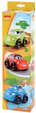 Sada 3 skládacích autíček pro děti Ecoiffier délka 10 cm od 18 měsíců