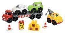Stavebnica Rýchle autá - kamión Abrick Écoiffier s 3 autami od 18 mes