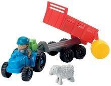 Stavebnice Abrick - Stavebnica traktor s vlečkou a zvieratkami Abrick Écoiffier 25 dielov od 18 mes_2