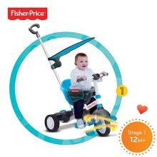 Trojkolky od 10 mesiacov - Trojkolka Fisher-Price Charm Plus Touch Steering smarTrike modrá od 12 mes_4