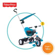 Trojkolky od 10 mesiacov - Trojkolka Fisher-Price Charm Plus Touch Steering smarTrike modrá od 12 mes_0
