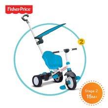Trojkolky od 10 mesiacov - Trojkolka Fisher-Price Charm Plus Touch Steering smarTrike modrá od 12 mes_1