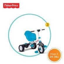 Trojkolky od 10 mesiacov - Trojkolka Fisher-Price Charm Plus Touch Steering smarTrike modrá od 12 mes_2