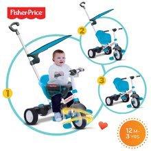 Trojkolky od 10 mesiacov - Trojkolka Fisher-Price Charm Plus Touch Steering smarTrike modrá od 12 mes_3