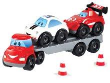 Stavebnice Abrick - Stavebnica Rýchle autá - Formula 1 Abrick Écoiffier kamión s autami od 18 mes_0