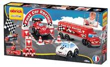 Stavebnice Abrick - Stavebnica Rýchle autá - Formula 1 Abrick Écoiffier kamión s autami od 18 mes_3