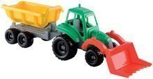 Traktor Picnic Écoiffier s prikolico dolžina 52 cm od 18 mes