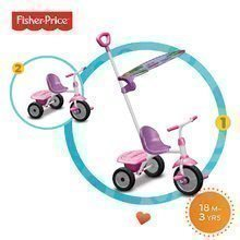 Detská trojkolka Fisher-Price Glee Plus smarTrike od 18 mesiacov ružovo-fialová