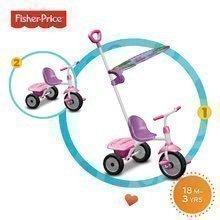 Trojkolka Fisher-Price Glee Plus smarTrike ružovo-fialová od 18 mes