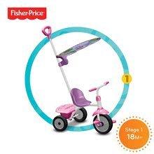 Trojkolky od 15 mesiacov - Trojkolka Fisher-Price Glee Plus smarTrike ružovo-fialová od 18 mes_0