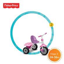 Trojkolky od 15 mesiacov - Trojkolka Fisher-Price Glee Plus smarTrike ružovo-fialová od 18 mes_1