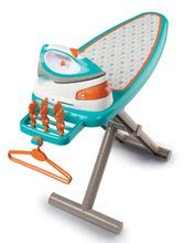 Hry na domácnosť - Set upratovací vozík s elektronickým vysávačom Vacuum Cleaner Smoby so žehliacou doskou a hriankovač s vaflovačom a kávovarom_11