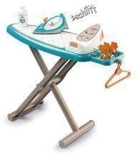 Hry na domácnosť - Set upratovací vozík s elektronickým vysávačom Vacuum Cleaner Smoby so žehliacou doskou a hriankovač s vaflovačom a kávovarom_4