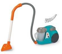 Vysávač Rowenta Vacuum Cleaner Silence Smoby elektronický so zvukom tyrkysový 27*17*21 cm SM330213