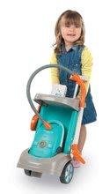 Hry na domácnosť - Set upratovací vozík Clean Service a 9 doplnkov a žehliaca doska s elektronickou žehličkou Tefal_1
