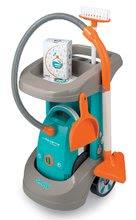 Hry na domácnosť - Set upratovací vozík Clean Service a 9 doplnkov a žehliaca doska s elektronickou žehličkou Tefal_8