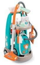 Dětská dílna sety - Set pracovní dílna Black&Decker Smoby elektronická a úklidový vozík s elektronickým vysavačem_4