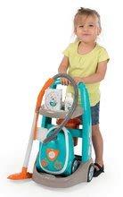 Dětská dílna sety - Set pracovní dílna Black&Decker Smoby elektronická a úklidový vozík s elektronickým vysavačem_16