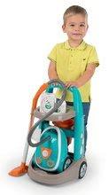 Dětská dílna sety - Set pracovní dílna Black&Decker Smoby elektronická a úklidový vozík s elektronickým vysavačem_17