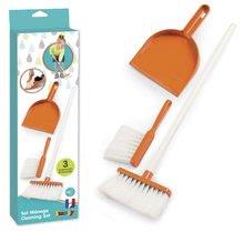 Hry na domácnosť - Metla s lopatkou na upratovanie Aqua Clean Smoby oranžová 3 dielna_2