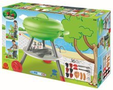 Hry na zahradníka - 334 g ecoiffier grilovaci stolik