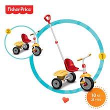 Trojkolka Fisher-Price Glee smarTrike od 18 mesiacov červeno-žltá