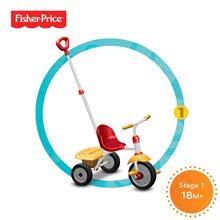 Trojkolky od 15 mesiacov - Trojkolka Fisher-Price Glee smarTrike červeno-žltá od 18 mes_0