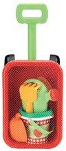 Kolečka do písku - Vozík na tahání Écoiffier s kbelík setem a konví Picnic od 18 měsíců_0