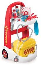 Dětský lékařský vozík Medical Smoby s kufříkem a 16 doplňky