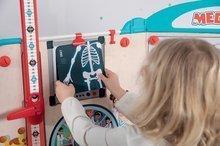 Šolske table - Zdravniška ambulanta z anatomijo človeškega telesa Doctor's Office Smoby dvostranska z rentgenom in testom vida ter 65 dodatki_15