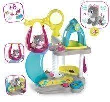 Domčeky pre bábiky - 340400 a smoby cat hosue