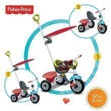 Tricikel Fisher-Price Jolly Plus smarTrike zeleno-rdeč od 12 mes