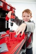 Pracovní dětská dílna - Pracovní dílna Black & Decker Bricolo Center Smoby s mechanickou vrtačkou, autíčkem a 60 doplňky_2