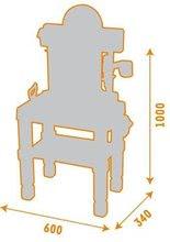 Pracovní dětská dílna - Pracovní dílna Black & Decker Bricolo Center Smoby s mechanickou vrtačkou, autíčkem a 60 doplňky_3